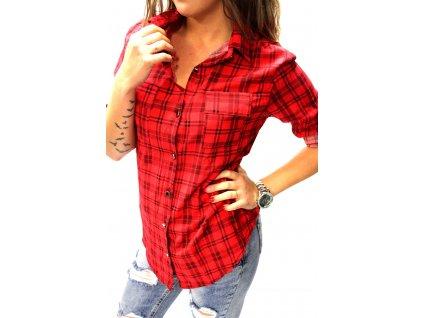 Dámská košile OKTER červená