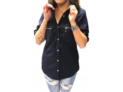 Dámská košile STREET ONE tmavě modrá