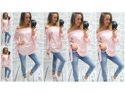 Dámská košile Vivien růžová