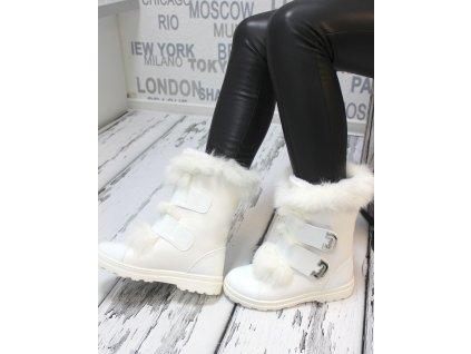 Dámské sněhulky bílé