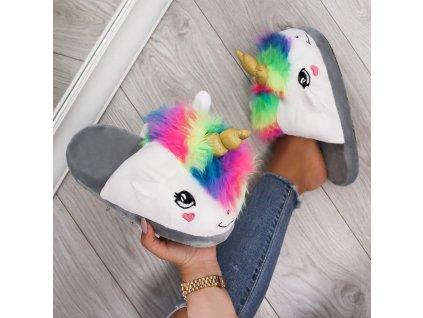 Pantofle jednorožec