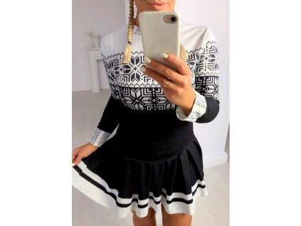 sukienka christmas black65468