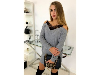sukienka ellen szarosc