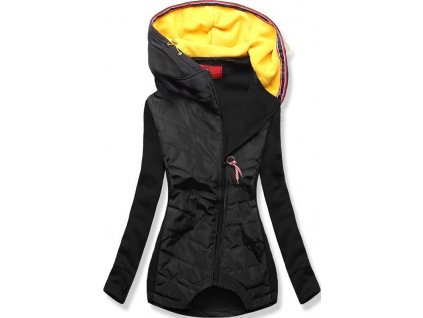 Dámská jarní bunda černá