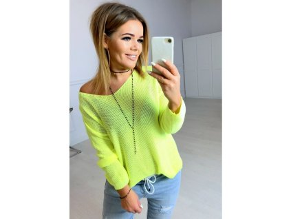 sweter tamaris lime