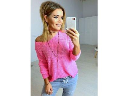 sweter tamaris pink