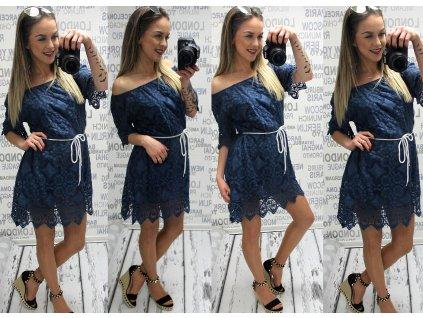 Dámská tunika/ šaty STAR modré