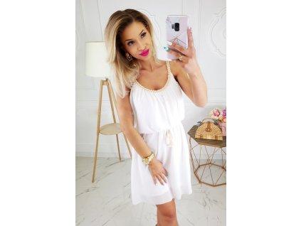 Dámské šaty CANDY bílé