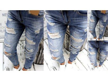 Dámské džíny trhané 5787