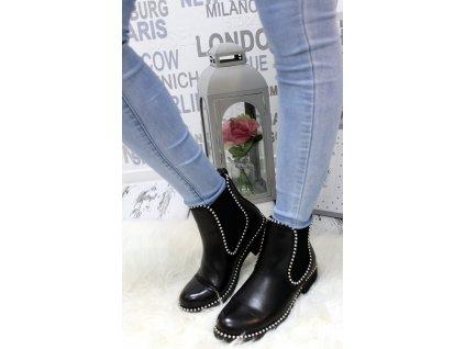 Dámská kotniková obuv černá MARLEY