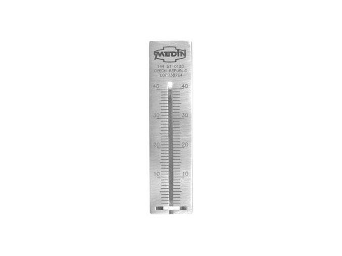 Měřítko kořenových nástrojů  6.0 cm