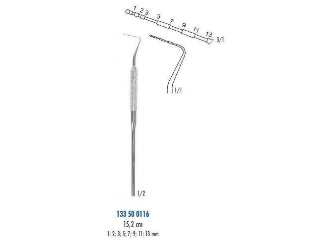 Sonda parodontol 5116abce34af4