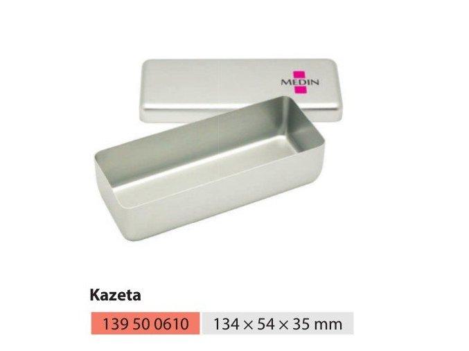 Kazeta  malá nízká 134x54x35mm