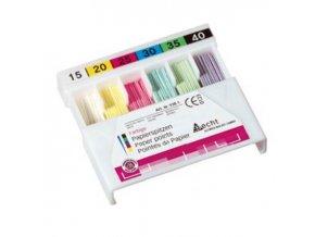 papírové čepy celobarevné