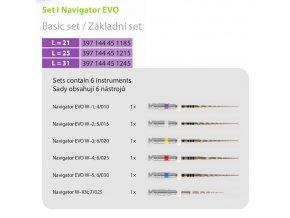 Navigator evo set I základní set Ni-ti 6ks