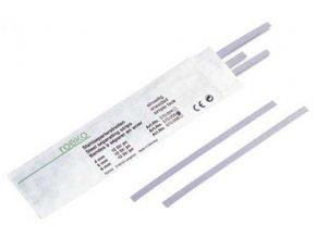 Nerezové brusné pásky ROEKO 12ks 8mm