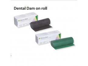 dental dam on roll