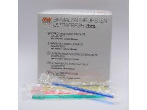 M+W zubní  jednorázové kartáčky Ultrafresh 100ks