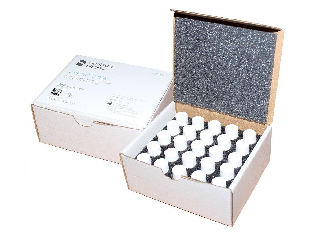 Celtra Press Investment Ø13mm plunger, písty ze zatmelovací hmoty 25ks