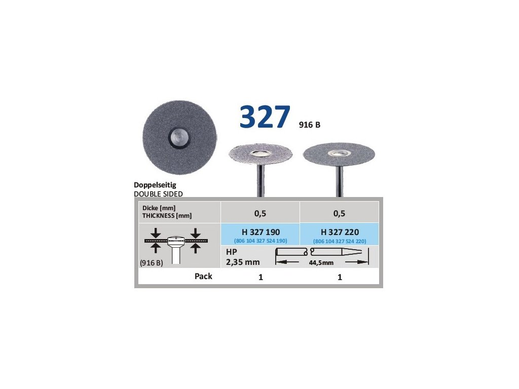 61170 diamantovy disk oboustranne sypany h327 prumer 2 2cm normal