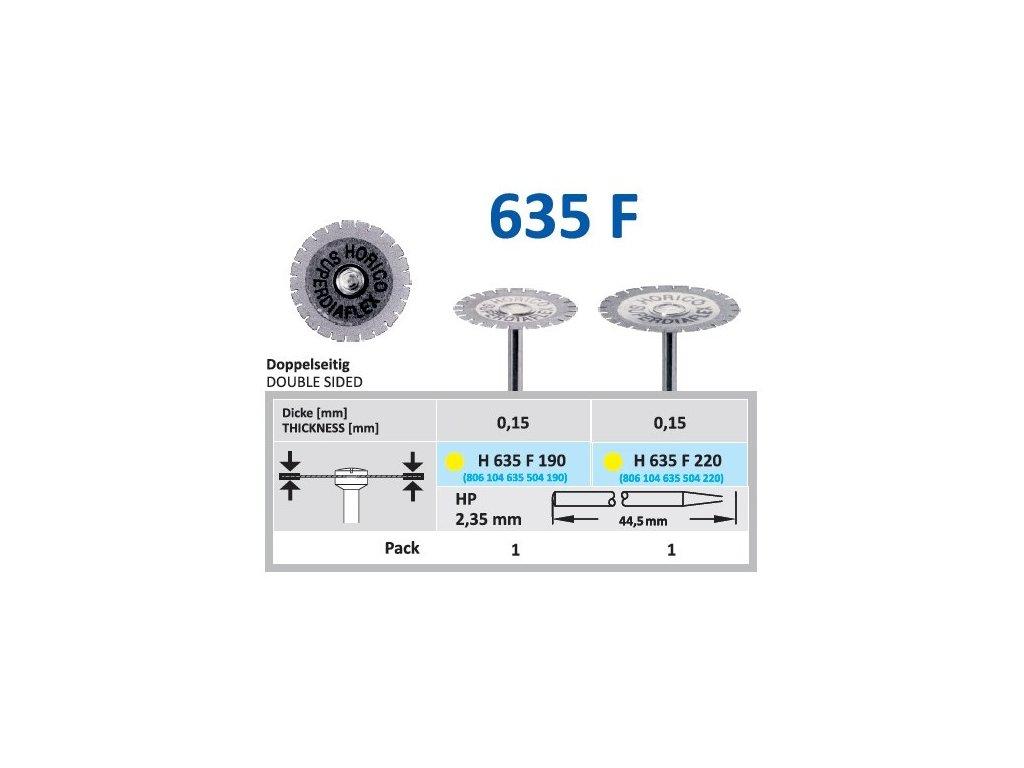 61497 diamantovy disk oboustranne sypany h635 prumer 2 2cm extra jemna