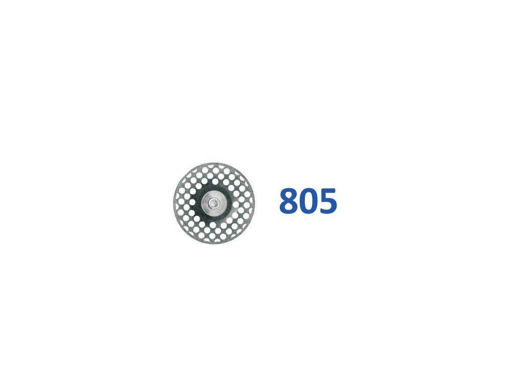 61500 diamantovy disk oboustranne sypany h805 prumer 1 6cm zrnitost jemna