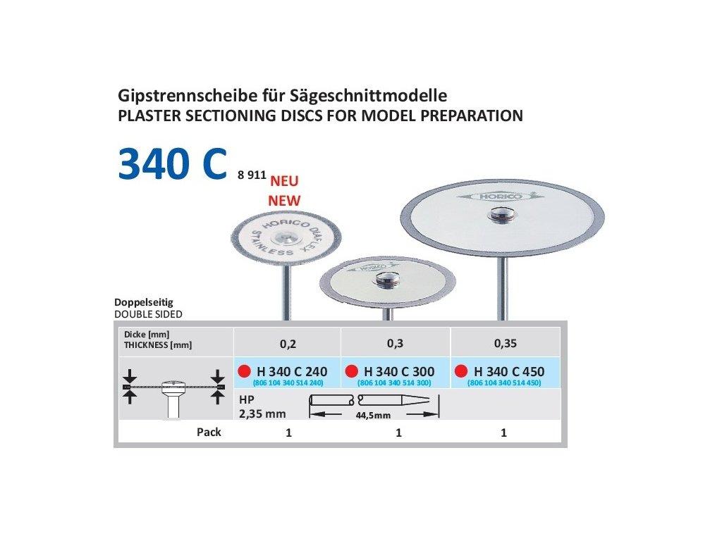 61221 diamantovy disk diaflex oboustranne sypany h340 3cm jemna