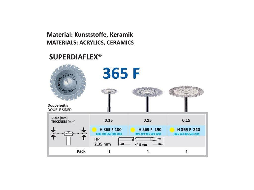 61464 diamantovy disk superdiaflex oboustranne sypany h365 1 9cm extra jemna