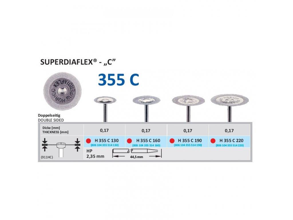 61314 diamantovy disk superdiaflex c oboustranne sypany 1 6cm jemna
