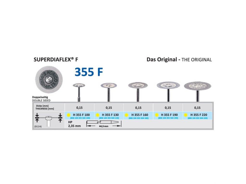 61326 diamantovy disk superdiaflex f oboustranne sypany 1 3cm extra jemna