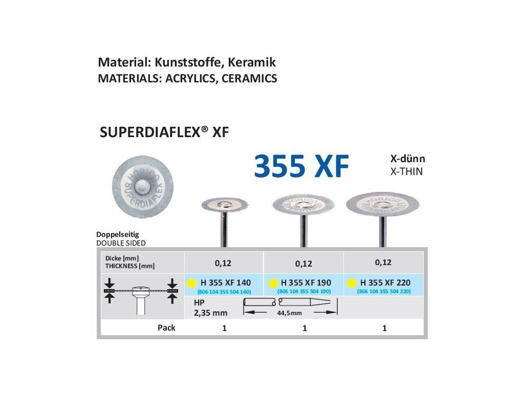 61353 diamantovy disk superdiaflex xf oboustranne sypany 1 4cm extra jemna