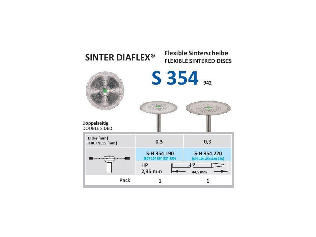 63075 disk ze sintrovanych diamantu oboustranne sypany sh354 2 2cm normal