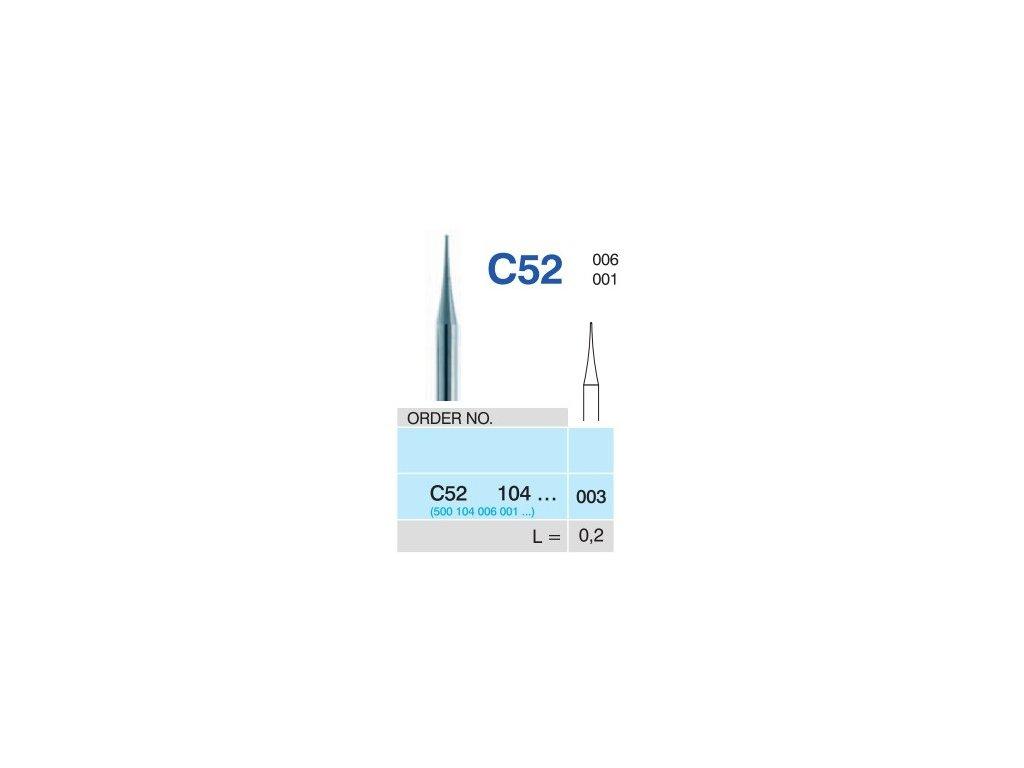 50808 horico tvrdokovovy vrtacek spicka c52104 prumer 0 3mm