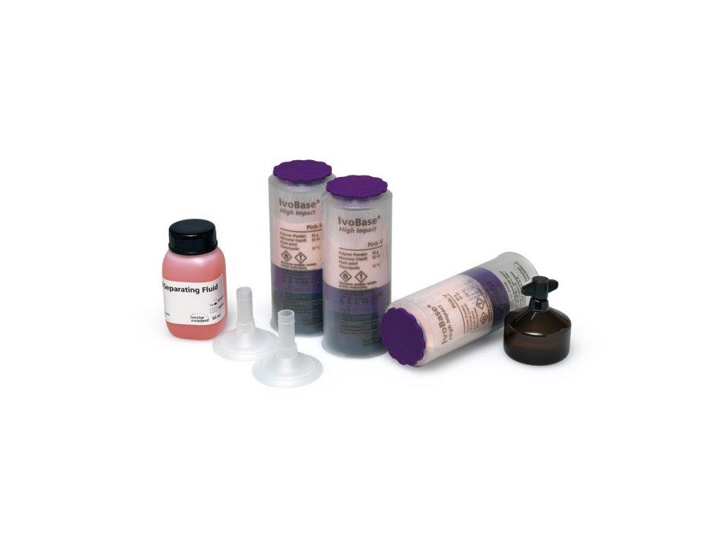 36495 ivobase high impact kit 20 pink v implant