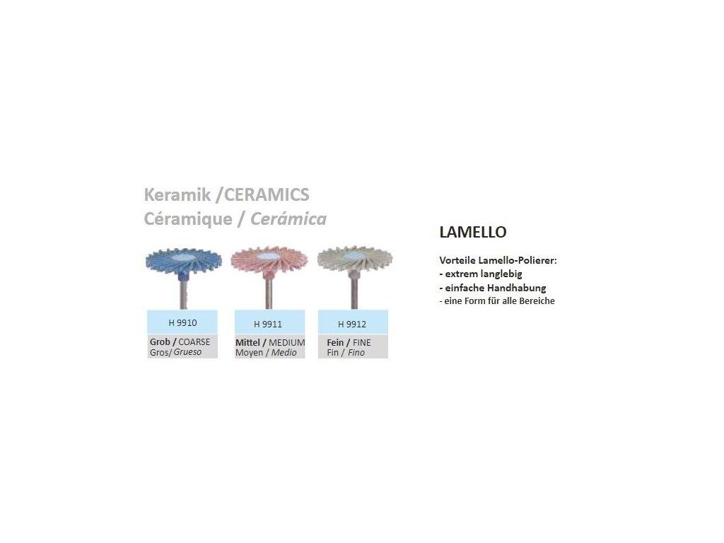 61596 lestici guma lamello keramik h9912