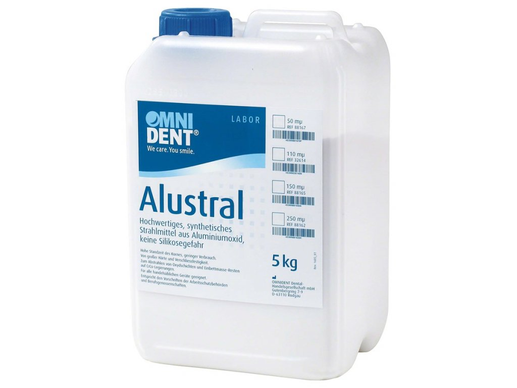 Alustral písek Al₂O₃ 250µm 5kg