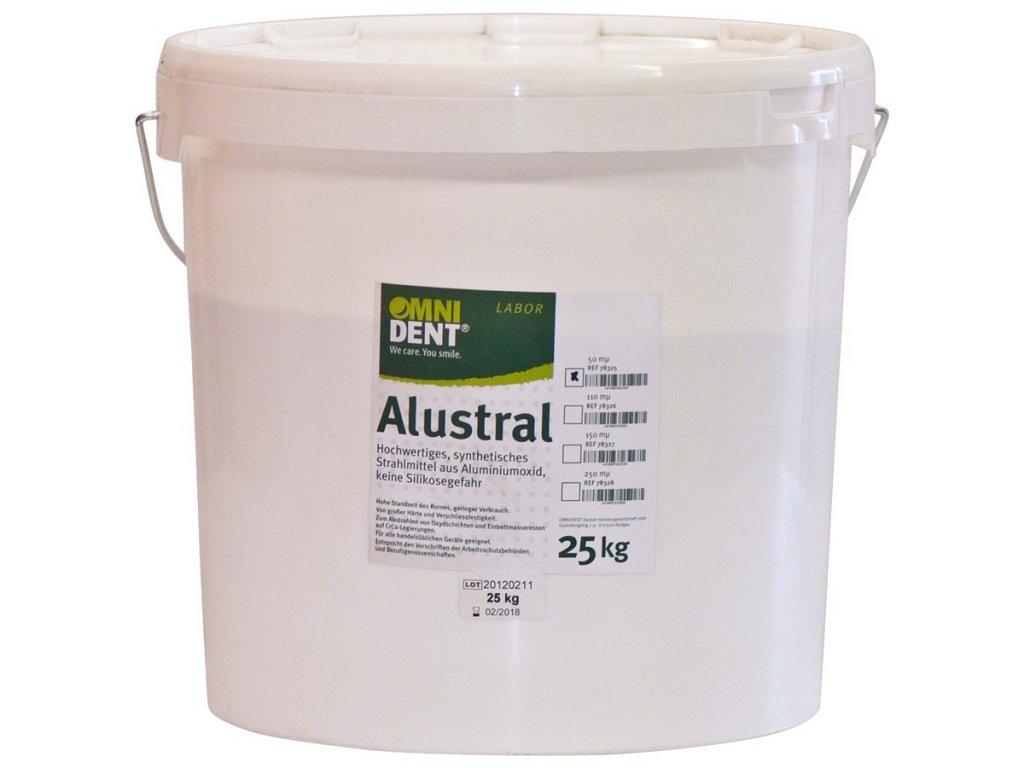 Alustral písek Al₂O₃ 50µm 25kg