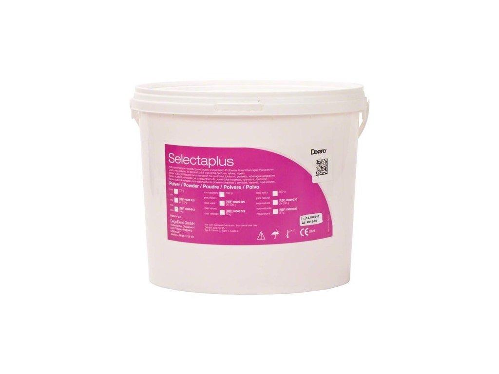 Selectaplus - pryskyřice pro protézy, prášek 3kg růžová