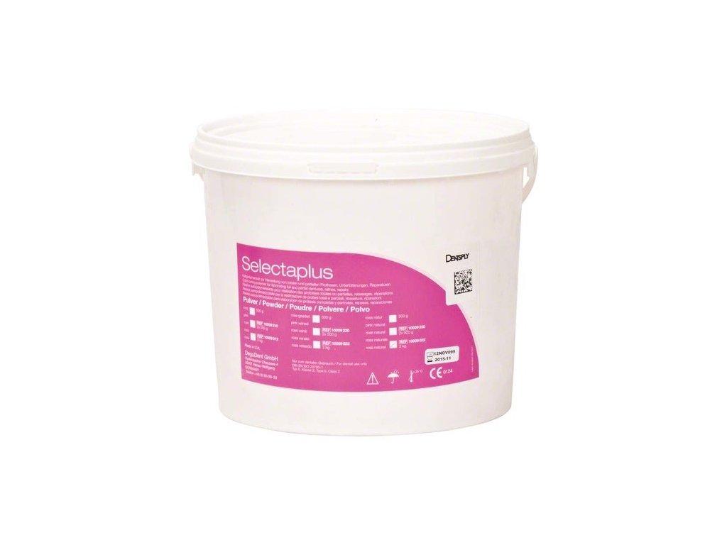Selectaplus - pryskyřice pro protézy, prášek 3kg růžová natural