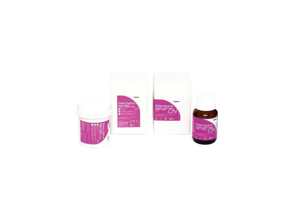 Selectaplus - pryskyřice pro protézy, probe pack, růžová žilkovaná