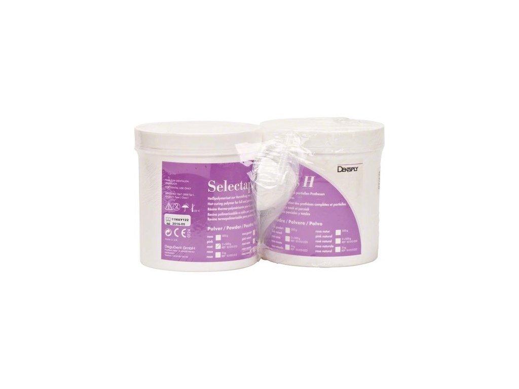 Selectaplus H - pryskyřice pro protézy, prášek 2x500g růžová