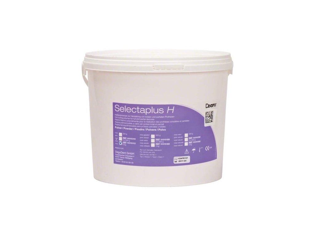 Selectaplus H - pryskyřice pro protézy, prášek 3kg růžová