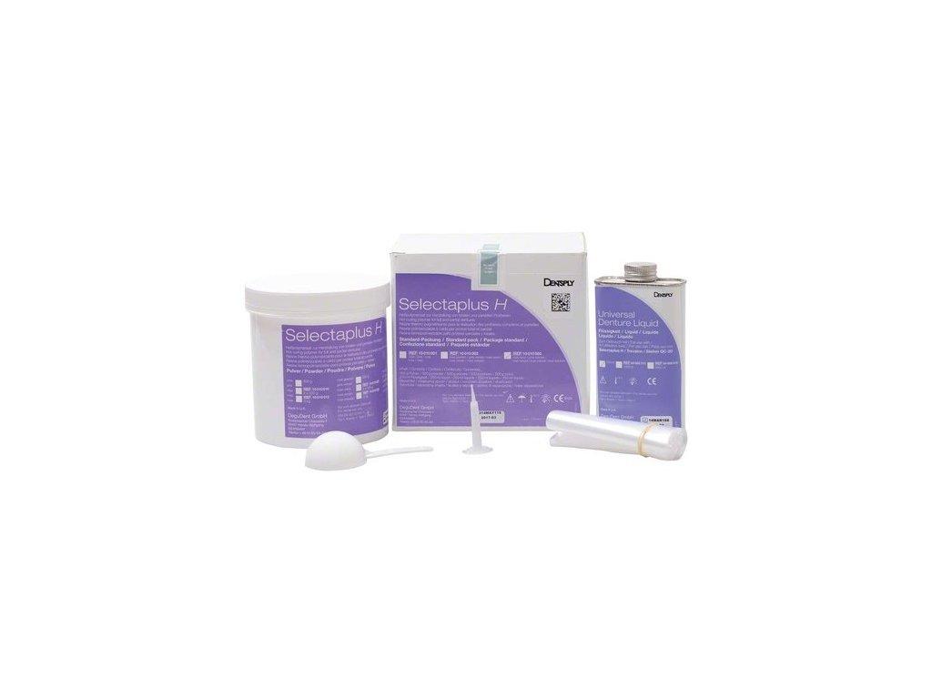 Selectaplus H - pryskyřice pro protézy, standardní balení, růžová natur