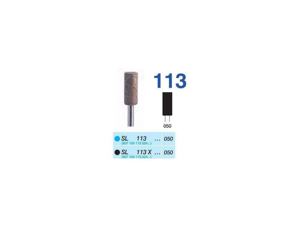 63333 sintrovany diamant cylindr sl113 prumer 5mm extra hruba