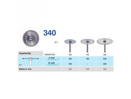 64146 diamantovy disk diaflex oboustranne sypany w340 2 2cm normal