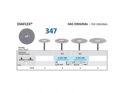 61257 diamantovy disk diaflex sypany shora h347 1 9cm normal