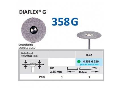 61407 diamantovy disk diaflex g oboustranne sypany h358g 2 2cm hruba