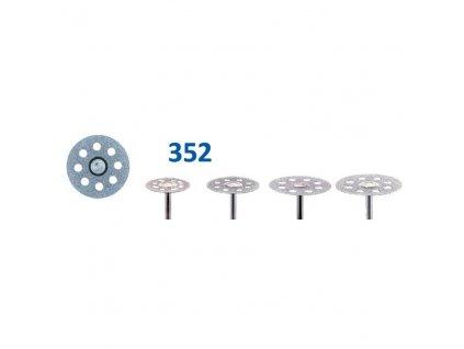 61296 diamantovy disk diaflex transvident sypany shora 2 4cm normal