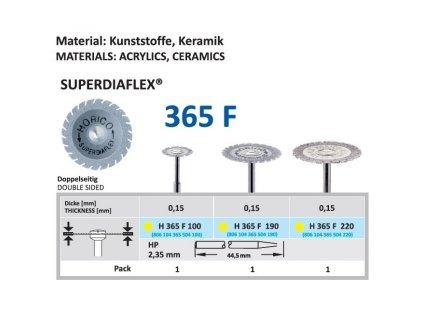 61467 diamantovy disk superdiaflex oboustranne sypany h365 2 2cm extra jemna