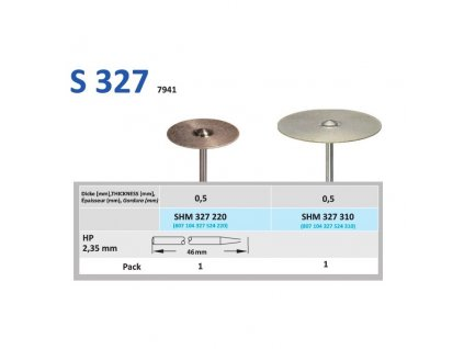 63291 disk ze sintrovanych diamantu shm327 prumer 2 2cm zrnitost normal